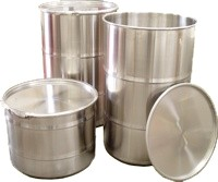 We make high quality Stainless Steel Drums and Barrels